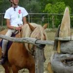 bambina cavallo